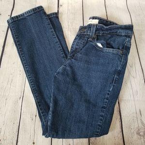 3/$20 Levi's 8 m girls mid rise skinny jeans